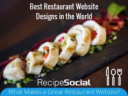 best restaurant website designs in the world recipe social restaura u2026