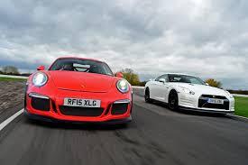 nissan gtr vs porsche 911 gt3 rs vs nissan gt r track edition by nismo gt r