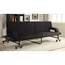 Black Sofa Bed by Futon Store Furniture Place Las Vegas Henderson Nevada Los