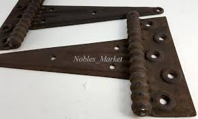 Antique Barn Door Hinges by Barn Door Latch Heavy Duty Heavy Iron Handle On The One Side And