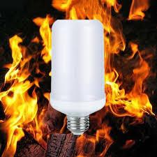 led flame effect fire light bulbs e27 2835 led flame effect fire light bulbs 7w creative lights