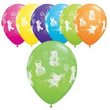 teddy bear latex balloon assortment teddy bear party ideas