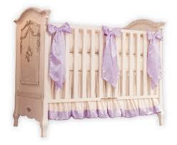 and ivory silk crib bedding