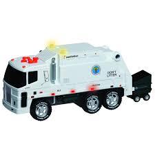 bruder garbage truck toy garbage trucks