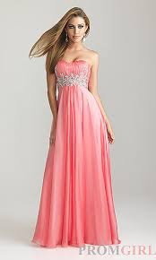 strapless prom dresses night moves prom gowns promgirl