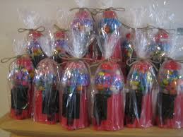 gumball party favors personalized party favor gumball machines weddings