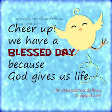 we a blessed day christian card christian cards for you