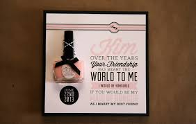 bridesmaid invites unique bridal party invitations