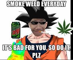 Smoke Weed Everyday Meme - smoke weed everyday it s bad for you so do it plz smoke weed