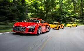 porsche 911 price 2016 2017 audi r8 v 10 plus vs 2016 mclaren 570s 2017 porsche 911