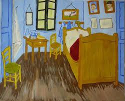chambre gogh reproduction de la chambre à coucher de gogh