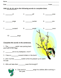 simple resume exles images of digraph consonants free consonant digraph worksheets for first grade homeshealth info