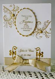 50th wedding anniversary card by holstein cards and paper crafts