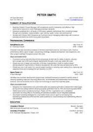 a professional cv format management trainee resume format