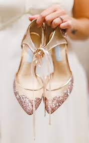 gold wedding shoes for 40 gold metallic wedding color ideas gold wedding