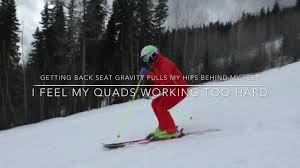 ski tips from tom gellie and luc neron part 2 youtube