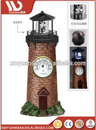 Lighthouse Garden Decor Solar Lighthouse Garden Stake Light With Revolving Beacon Garden