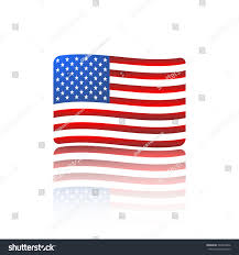 Flags Made In Usa United States Flag Made Vector Stock Vector 222874966 Shutterstock