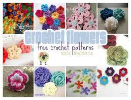 Crochet Designs Flowers 1019 Best Crochet Flowers Etc Images On Pinterest Crocheted