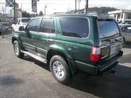 toyota 4runner 1999 limited 1999 toyota 4runner limited green automatic portland 12995