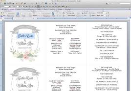 ceremony program template diy tutorial free printable ceremony booklet boho weddings for
