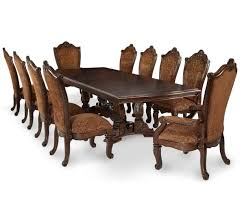 buy windsor court rectangular dining table by aico from www