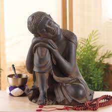 Resting Space Small Resting Garden Buddha Statue Dharmacrafts