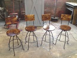 Wood And Metal Bar Stool Furniture Wood And Metal Bar Stools Design Swivel Cover Square