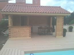 cuisine d été en bois cuisine d été en bois maison moderne with cuisine ete bois coin