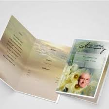 funeral program printing funeral program word template archives funeral templates