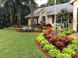 Tropical Gardening Ideas Peachy Design Ideas Florida Landscape Garden Large Create A