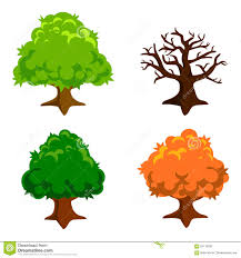 simple tree illustration stock vector image of garden 65113038