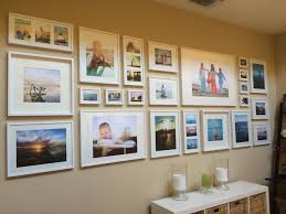 easy diy tutorial u2013 gallery wall with ikea ribba frames gallery