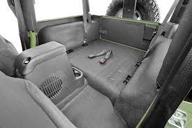 jeep bed in back amazon com bedrug jeep kit bedtred bttj97r fits 97 06 tj 97 06