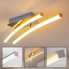 Stylische Esszimmerlampe Led Deckenleuchte Inkl 4 X 3 4w Led Platinen Led Deckenlampe 4 X
