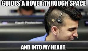 New Memes Daily - nasa s mohawk guy is the best new meme ever daily of the day