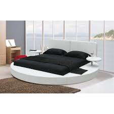Leather Headboard Platform Bed Catchy Platform Beds With Headboard Mies Platform Bed White