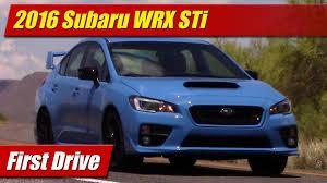 subaru sti 2016 first drive 2016 subaru wrx sti testdriven tv
