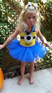Toddler Minion Costume Minion Tutu Dress Minion Costume Blue And Yellow Tutu
