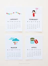 12 cute free printable calendars for 2014 free printable