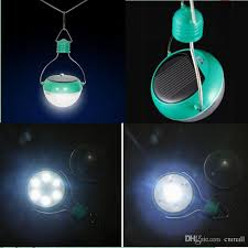 Solar Outdoor Lantern Lights - outdoor solar lamps solar camping lantern 7led lighting bulb solar