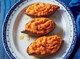 sweet potatoes thanksgiving twice cooked sweet potatoes with citrus and honey recipe