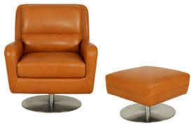 Swivel Chair And Ottoman Pleasing Swivel Chair With Ottoman For Outdoor Furniture With