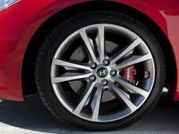 2013 hyundai genesis coupe 3 8 r spec oem wheel and tire information hyundai genesis forum