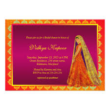 fancy indian wedding invitations indian wedding invitations announcements zazzle