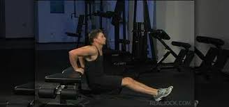 Triceps Bench Dips How To Do Jump Triceps Bench Dips Body Sculpting Wonderhowto
