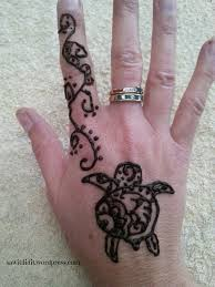 holiday activity u2013 henna tattoos at home saw it pinned