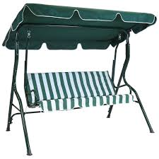 Textilene Patio Furniture by Charles Bentley 2 Seater Garden Swing Seat Buydirect4u