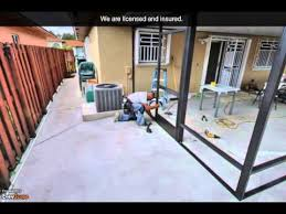 Painting Aluminum Screen Enclosures by Juan Screens And Aluminum Roofs Miami Fl Screen Enclosures
