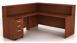 L Shaped Reception Desk Office Furniture 1 800 460 0858 Trusted 30 Years Experience